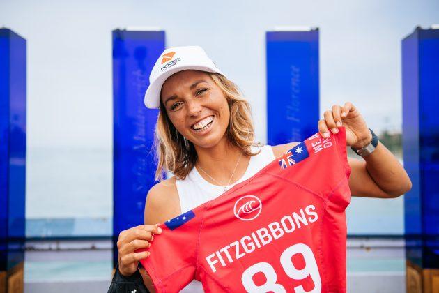 Sally Fitzgibbons, Rip Curl WSL Finals 2021, Trestles, Califórnia (EUA). Foto: WSL / Thiago Diz.
