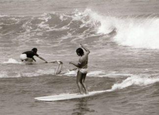 O surfe no Japão