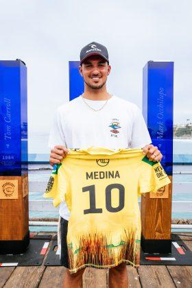 Gabriel Medina, Rip Curl WSL Finals 2021, Trestles, Califórnia (EUA). Foto: WSL / Thiago Diz.