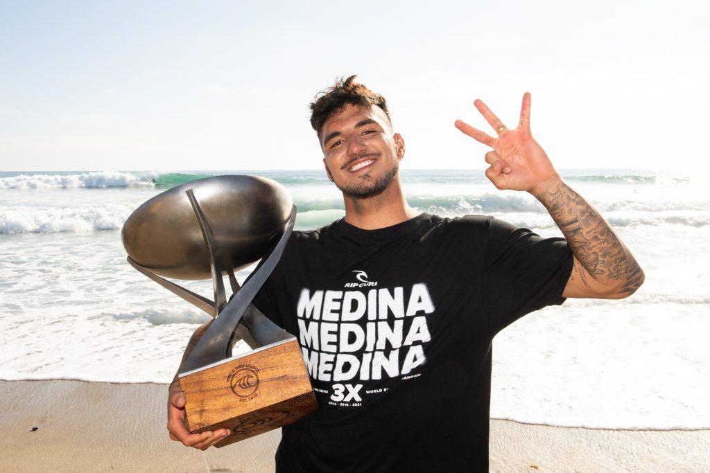 Tricampeonato mundial era sonho de infância de Medina.