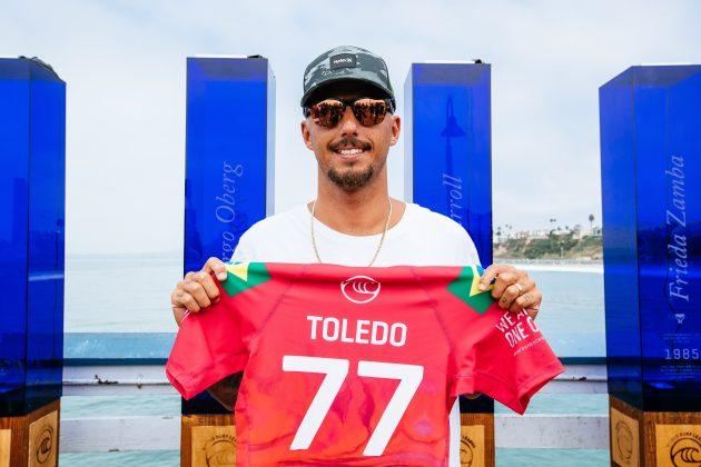 Filipe Toledo, Rip Curl WSL Finals 2021, Trestles, Califórnia (EUA). Foto: WSL / Thiago Diz.