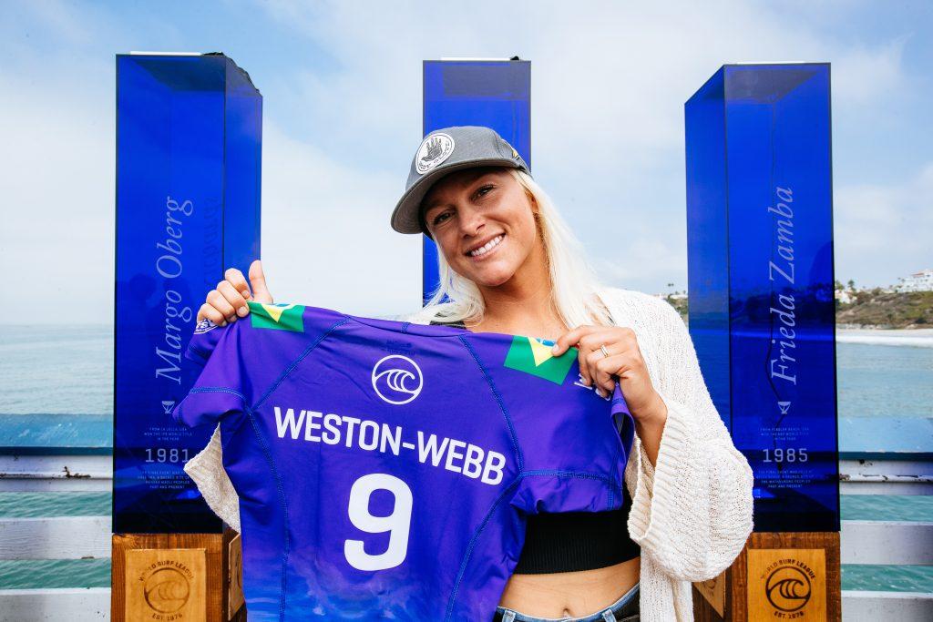 Tatiana Weston-Webb chega nas finais como a segunda melhor do ranking.