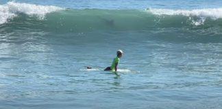 Garoto escapa de tubarão