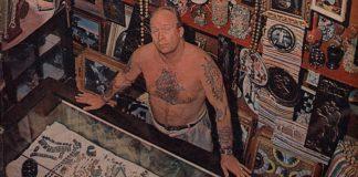 Pioneiro da tatuagem no Brasil
