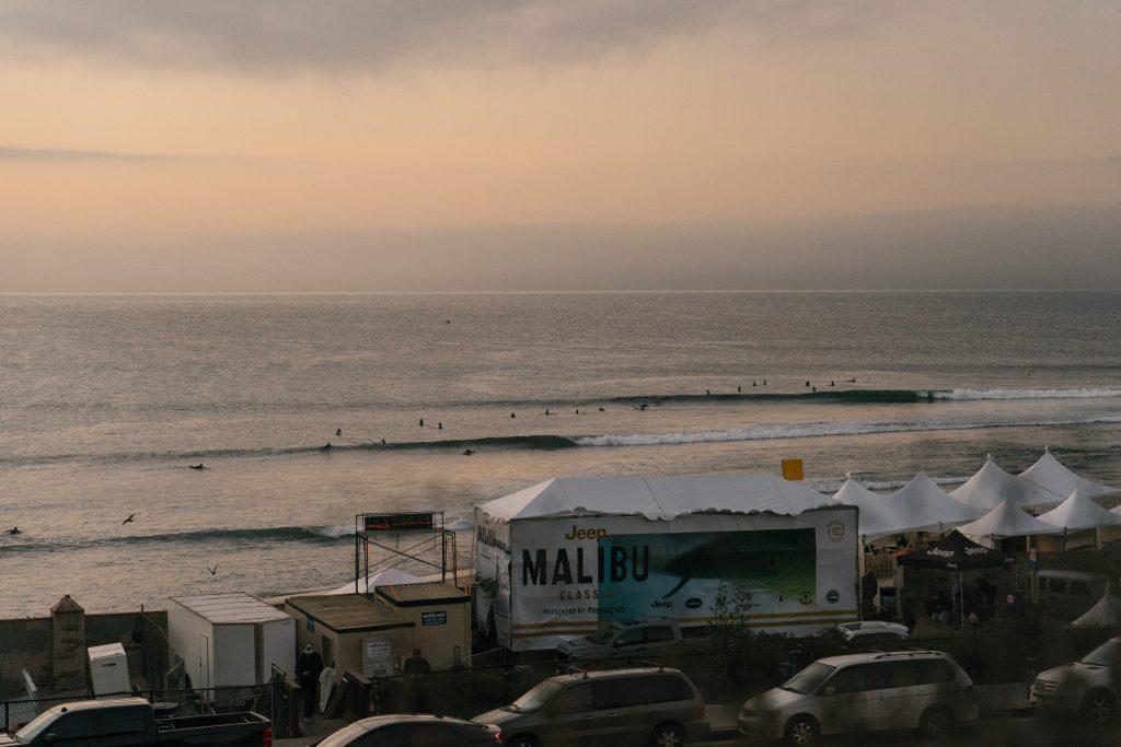 Malibu é um dos picos mais tradicionais do longboard na Califórnia.