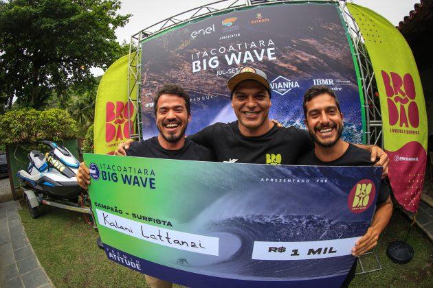 Premiação, Itacoatiara Big Wave 2021, Niterói (RJ). Foto: Tony D'Andrea.