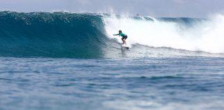 Luquinha nas Maldivas