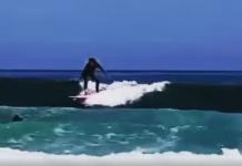 Shakira surfa na Espanha