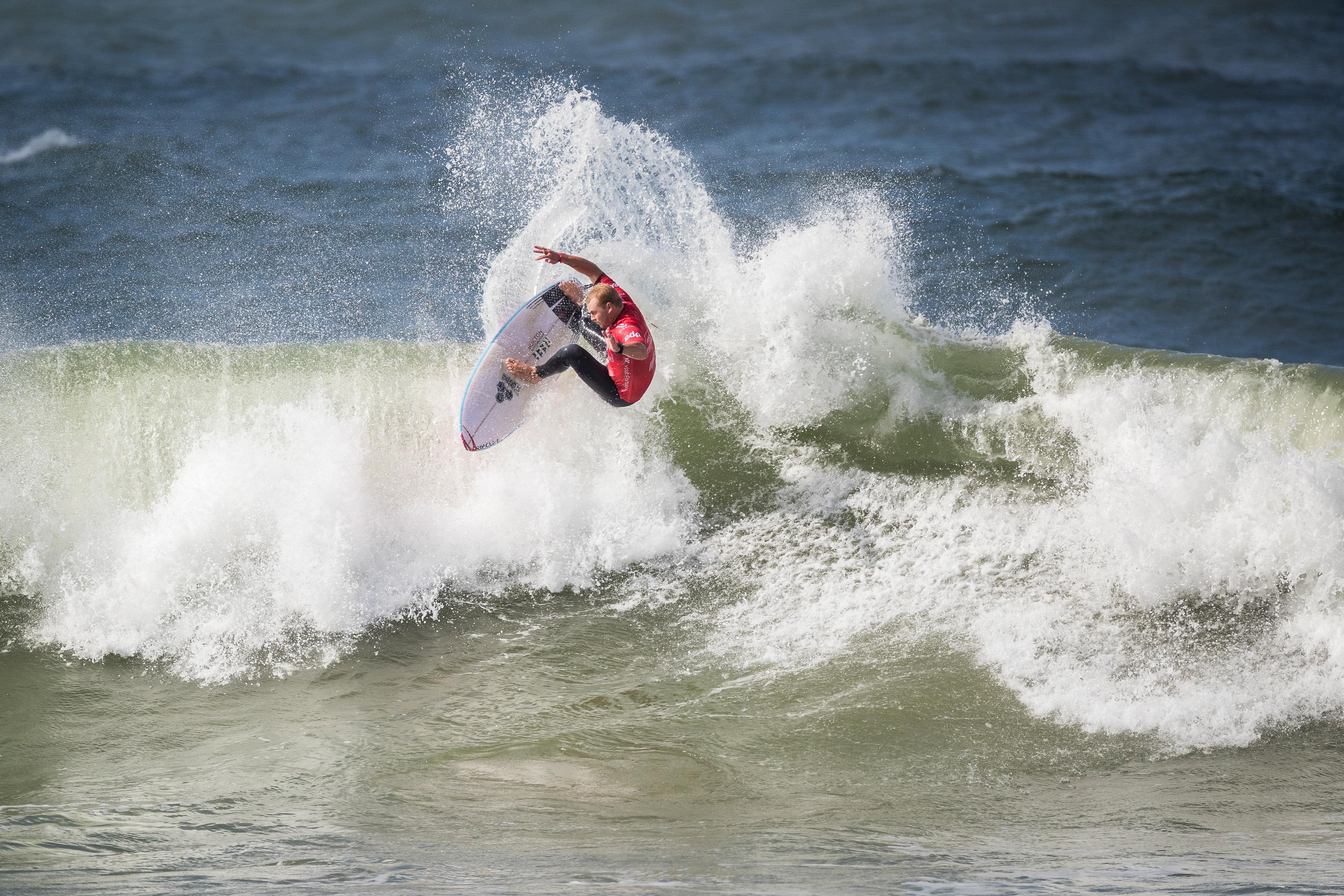 Jackson Baker é vice-campeão em Portugal.