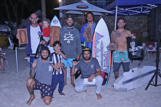 Pódio Master, Escola Adriano Camargo, praia de Juquehy, São Sebastião (SP). Foto: Munir El Hage.