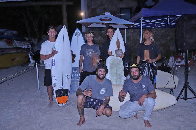 Pódio Mirim, Escola Adriano Camargo, praia de Juquehy, São Sebastião (SP). Foto: Munir El Hage.