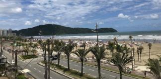 Abertura na Praia Grande