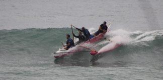 Canoas invadem line up