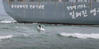 Tufão bomba na Coreia