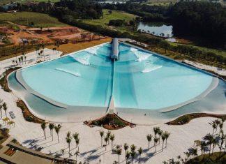 Sete piscinas em sete anos