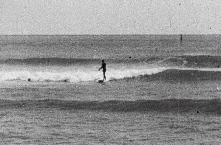 Filmagens históricas do surfe