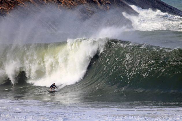 Gabriel Sampaio, Itacoatiara Big Wave 2021, Niterói (RJ). Foto: Tony D'Andrea.