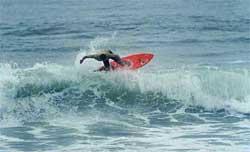 Boas ondas marcaram a 3ª etapa do Catarinense Amador