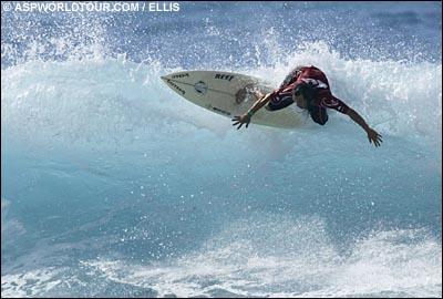 Derek Ho - Mundial Masters 2003. Foto: Ellis/ASP.