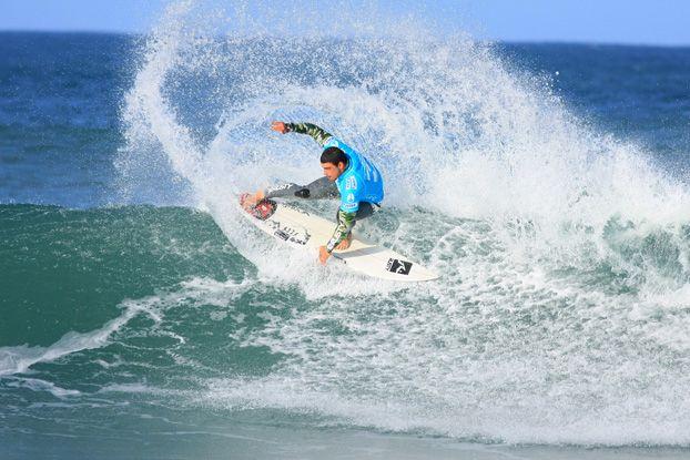 Leo Neves, Billabong Pro 2008, Jeffreys Bay, África do Sul. Foto: Aleko Stergiou.
