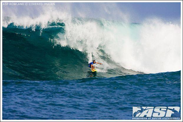Derek Ho, Reef Hawaiian Pro 2008, Haleiwa, Hawaii. Foto: ASP Rowland / Covered Images.