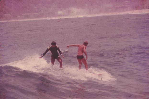 Irencyr Beltrão e Arduíno Colasanti fazem parte da história do surfe brasileiro.