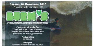 Bodyboarders decidem em Matinhos (PR)
