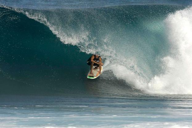 Derek Ho, North Shore de Oahu, Hawaii. Foto: Francisco Chagas / Photochagas.com.