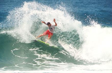 Neco Padaratz - Campeão do Reef Classic 1998 - Praia da Joaquina - Florianópolis (SC)