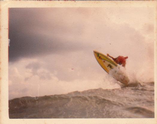 Foto 1: Fábio Gouveia, Dique de Cabedelo (PB), 1984