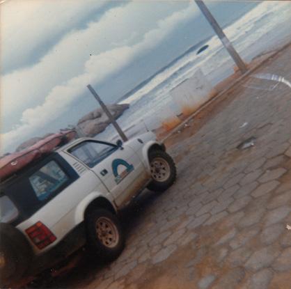 Foto 2: praia da Joaquina, Florianóplis (SC), 1987
