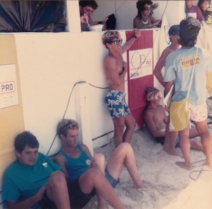 Foto 3: OP Pro 1987, praia da Joaquina, Florianópolis (SC)