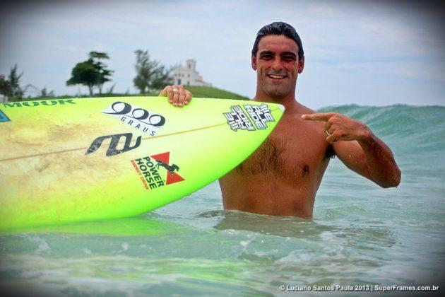 Leo Neves é o novo atleta do time We All Ride. Foto: Luciano Santos Paula.