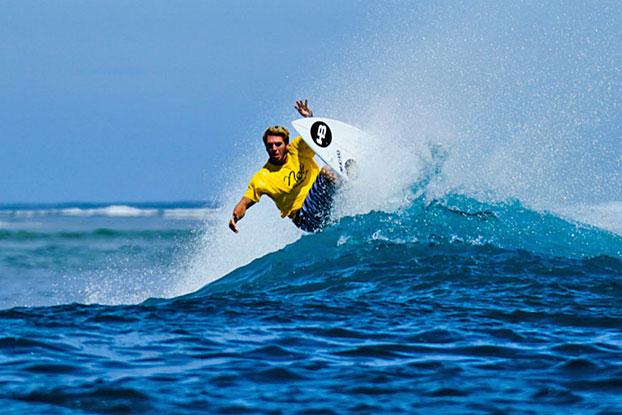 Guilherme Herdy ficou por dez anos na elite mundial e venceu diversas etapas do QS.