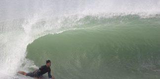 Bodyboarders invadem São Conrado