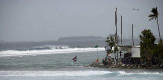 O'Neill Open busca refúgio na Ilha de Himmefushi