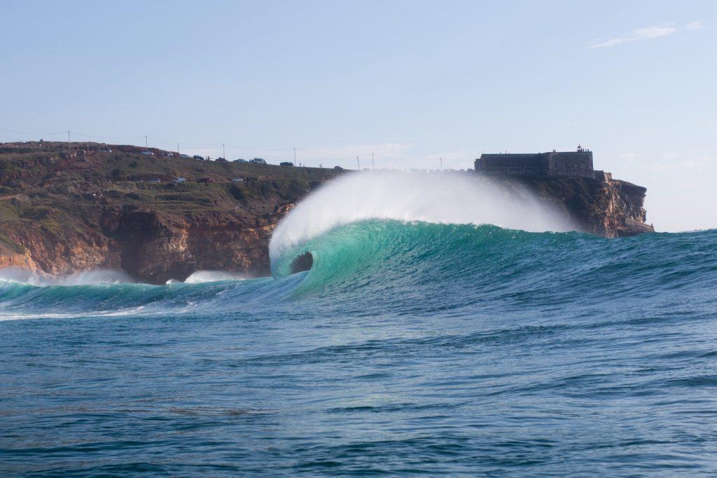 Novo período de espera vai de 4 de janeiro a 4 de março na Praia do Norte. Foto: Divulgação.