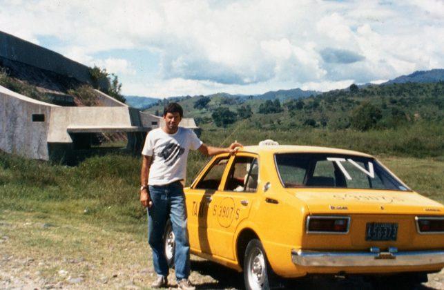 Fernando Costa Netto em viagem para Chalatenango, El Salvador