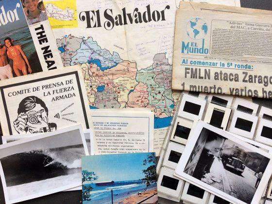 Still de coisas que estavam na pasta, El Salvador