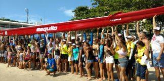 Esquilo Sports Club batiza sua segunda canoa havaiana