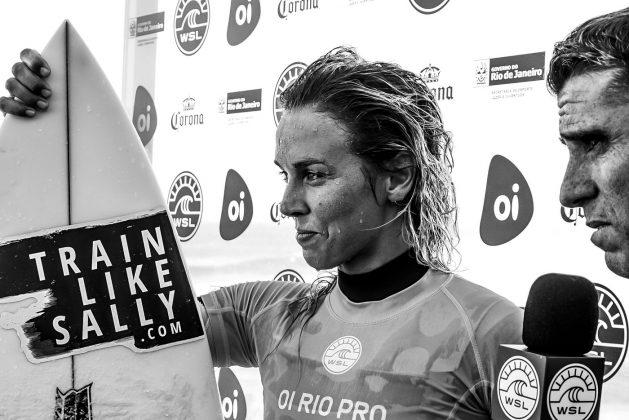 Sally Fitzgibbons, Oi Rio Pro 2017, Itaúna, Saquarema