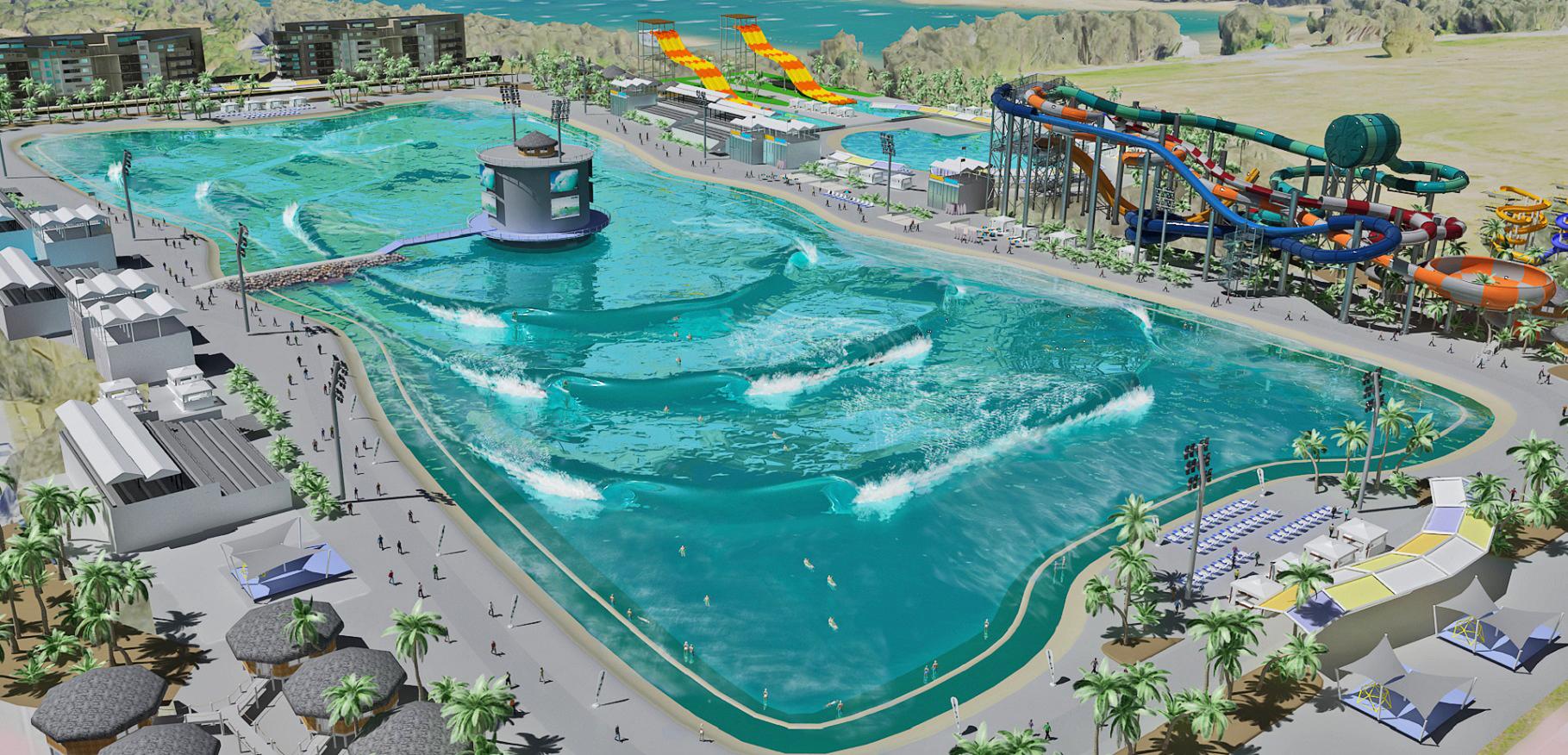 Mark Occhilupo ajuda a desenvolver piscina de ondas revolucionária na Austrália. Foto: Divulgação