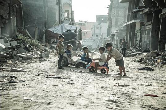 Faixa de Gaza, Palestina. @edu_martinsp