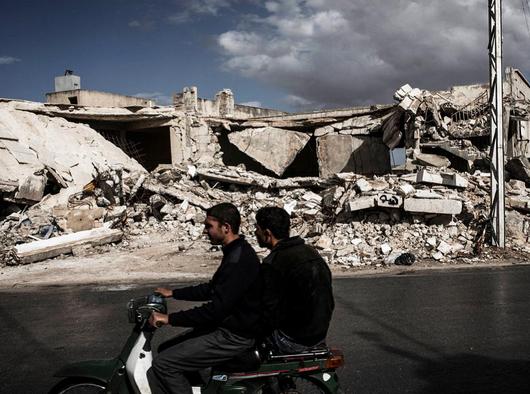 Ruína em Aleppo, Síria, @edu_martinsp