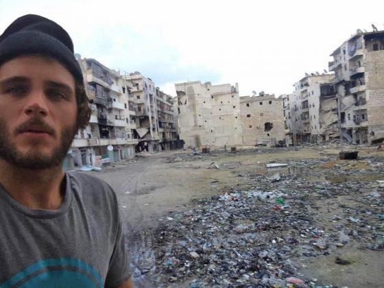Eduardo Martins, Aleppo, Síria,