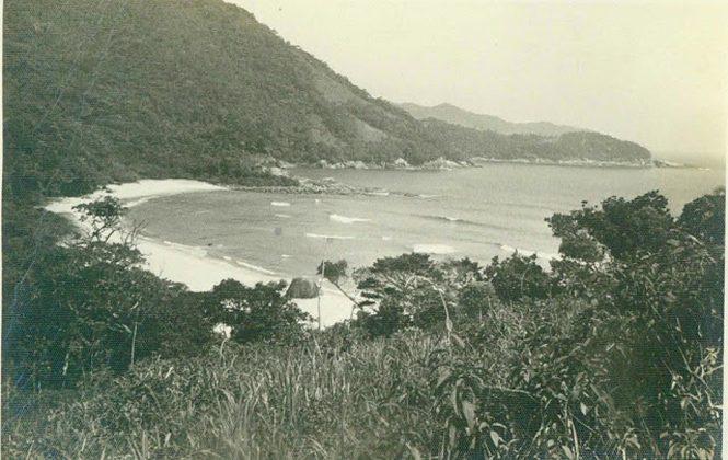 Praia dos Antigos ano de 1977, Trindade (RJ)