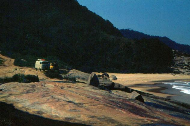 A Kombi no Cepilho em 1978, Trindade (RJ)