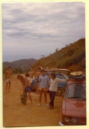 Uma visão da praia de Trindade quase sem construções nos anos 70, Trindade (RJ)