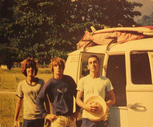 Jorge Pacelli, Bruno Alves e Marcelo Diniz na Laranjeiras, 1978, Trindade (RJ)