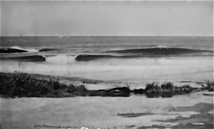 O Cepilho quebrando clássico durante a caravana ecológica de 1977, Trindade (RJ)